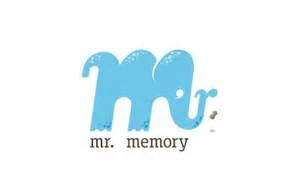 m r logo design mr memory