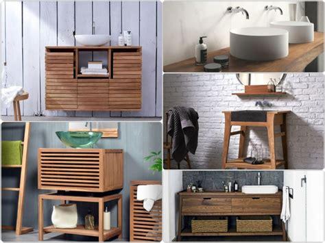 bad holz waschtisch waschtisch aus holz und andere rustikale badezimmer ideen