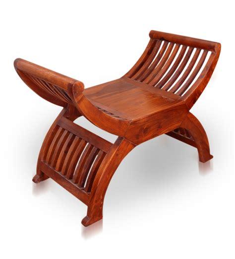 U Shaped Stool olida u shaped slatted stool by mudramark stools