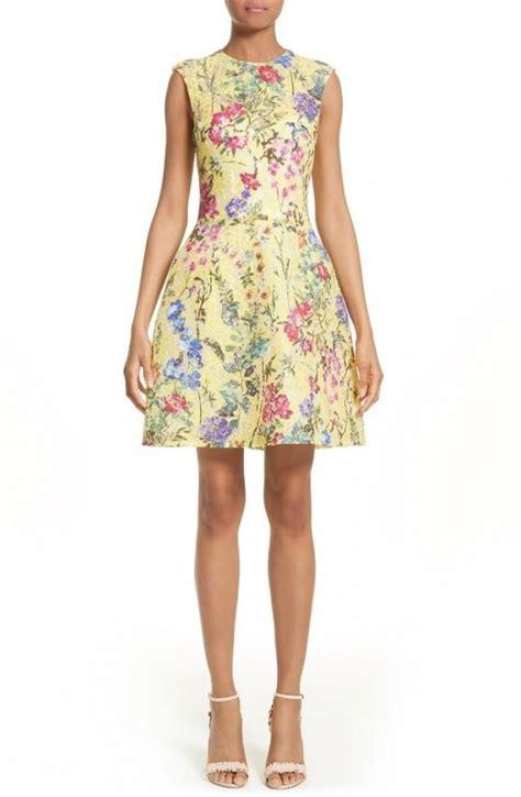 Vilia Lace Flare Dress kleiden garden print lace fit flare dress 2724838