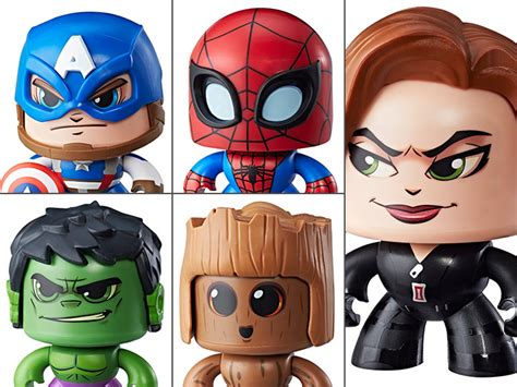 Mighty Muggs Marvel marvel mighty muggs wave 1 set of 5