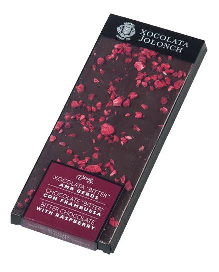 Chocolate Nougat 100 Gr chocolat amer au framboises jolonch 100 gr finetre