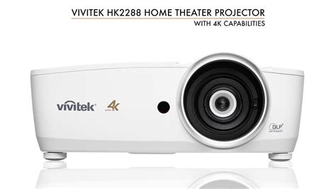 vivitek hk  uhd home theater projector