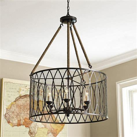 industrial chandeliers denley 6 light pendant chandelier industrial