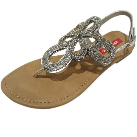 jeweled flats shoes union bay s richmond jeweled sandals flats shoes