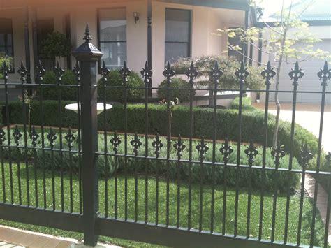 front fences melbourne front yard fencing front garden