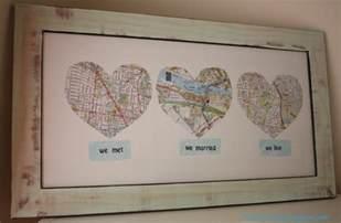 Handmade Wedding Present Ideas - map