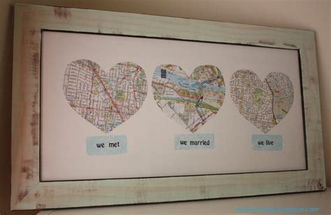 Wedding Gift Map by Map
