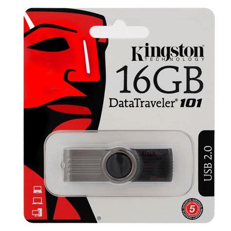 Flash Disk Kingston 16gbflashdisk Kingston 16gb Promo kingston datatraveler 101 usb 16gb 16g dt101g2 16gb dt101
