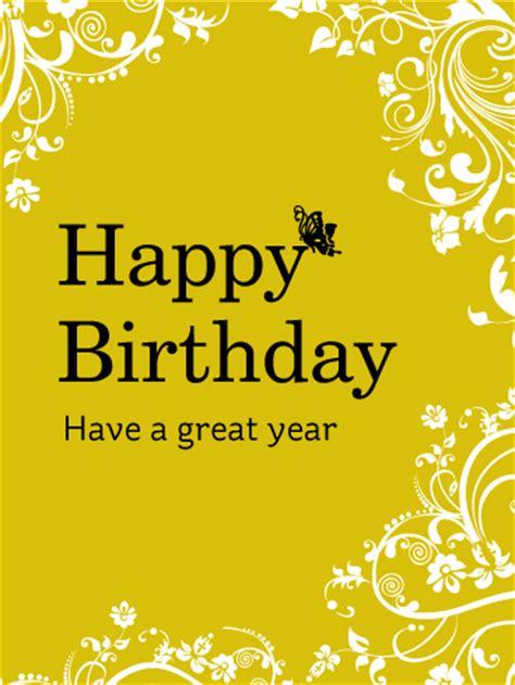 happy birthday flower  butterfly card birthday