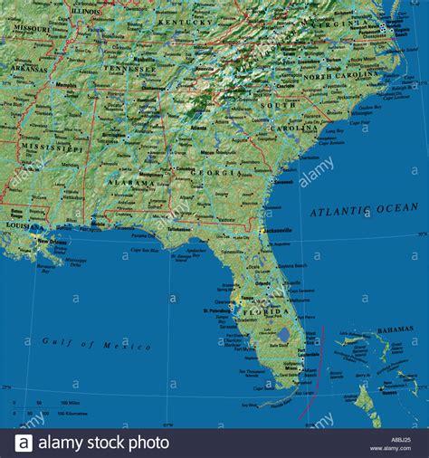 map usa and caribbean map maps usa florida caribbean stock photo royalty free
