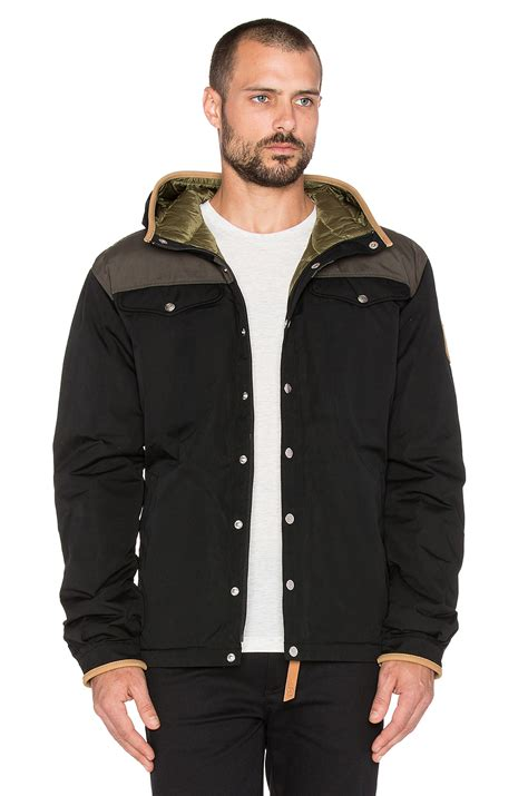 Just Say No To Sleeve Jackets by Fjallraven Greenland No 1 Jacket In Black For Lyst