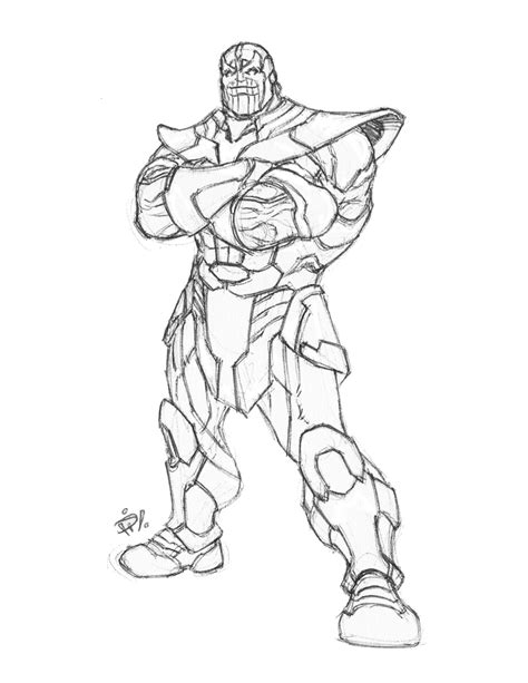 marvel thanos coloring pages marvel thanos coloring pages