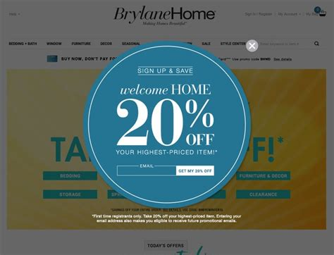 Brylane Home Coupon by Brylane Home Coupons Brylanehome Promotion Codes