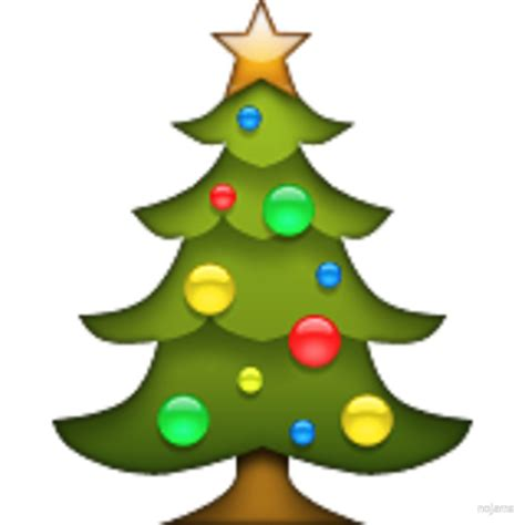 Emoji Xmas Tree | quot christmas tree emoji quot by nojams redbubble