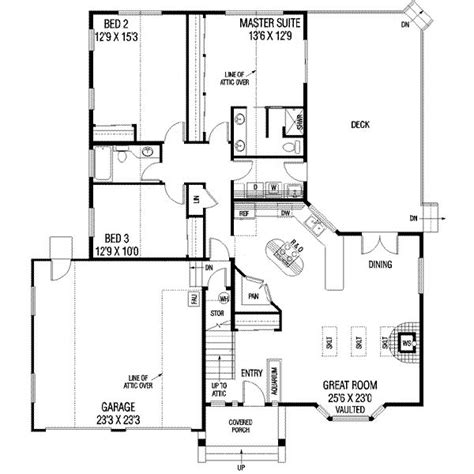 view home plans 1650 square 2 bedrooms 1 batrooms on 1 levels