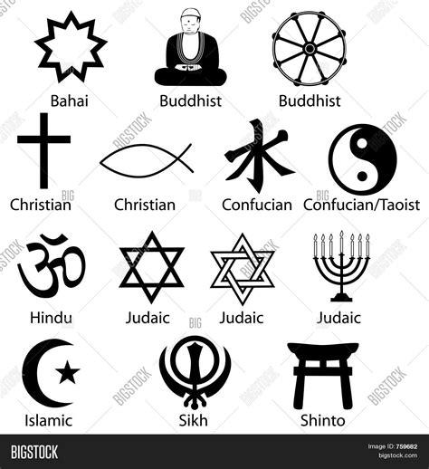religious symbols image amp photo bigstock