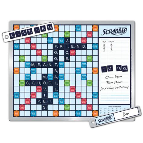 picture of a scrabble board the walk by scrabble board hammacher schlemmer