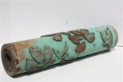 antique wallpaper roller l antique wallpaper print roller industrial supply aqua teal