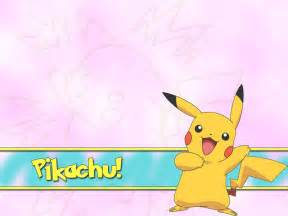 pikachu pokemon picture for wallpaper