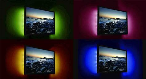 Under Kitchen Cabinet Lighting Battery Operated by Tv Led Backlight Kit Rgb Colour Changing