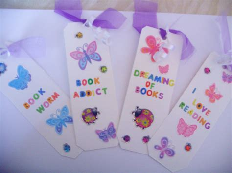 Handmade Book Marks - handmade bookmark giveaway reading away the days