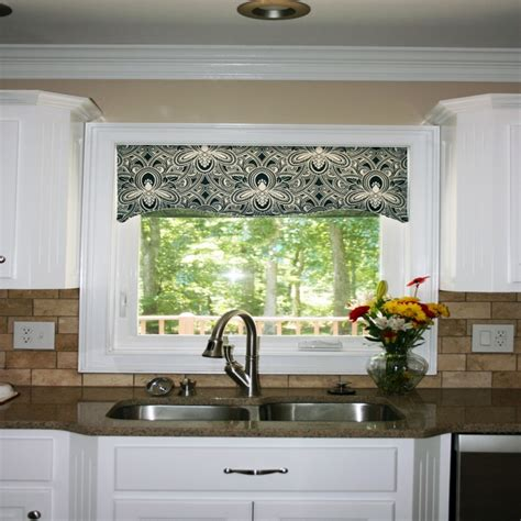 valance ideas for kitchen windows is large kitchen window curtains any good 5 ways you can