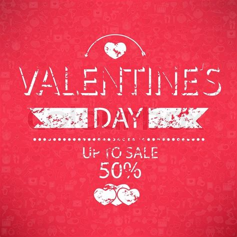 Zales S Day Sale Template Valentines Day Up To Sale 50 Card And Banner