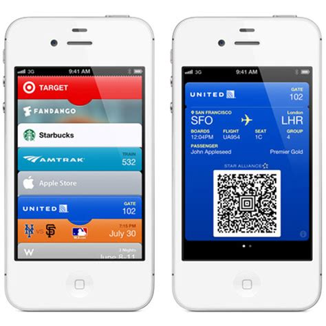 Gift Cards In Passbook - passbook ios 6 iphone 5 what is passbook cool apps man