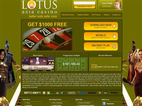 lotus asia casino review wizard of odds