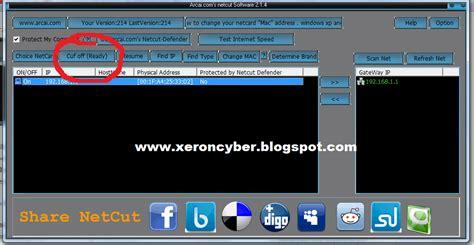 tutorial netcut terbaru cara memutus koneksi internet komputer lain dengan netcut