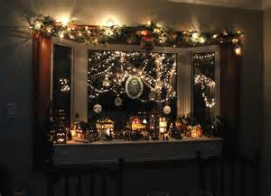 decorations for bay windows what a wonderfull christmas