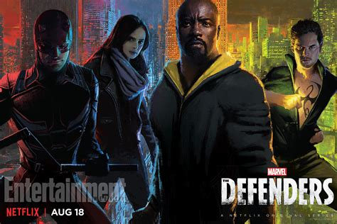 marvel releases it s coming marvel s the defenders gets a new poster ahead of its release