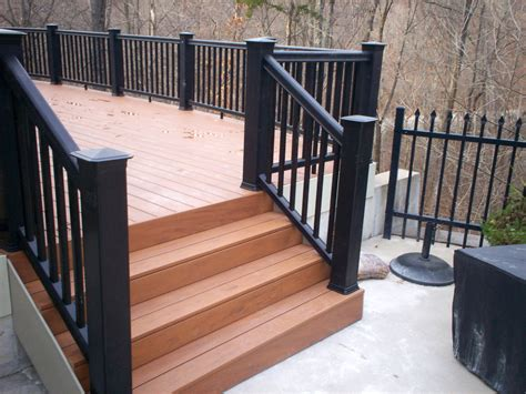 Patio Railing by St Louis Deck Contractors Timbertech Decking St Louis Decks Screened Porches Pergolas By