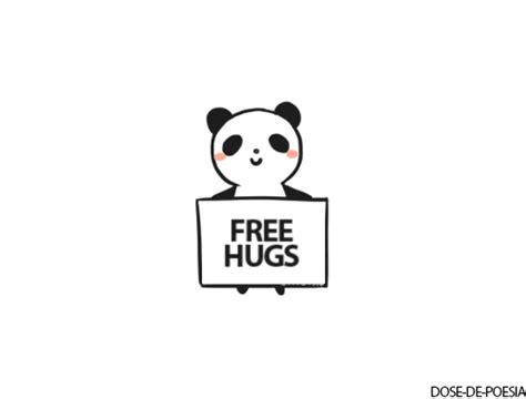 Free Hugs Panda panda drawing human jam animals