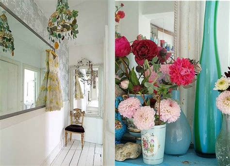interior design with flowers colorful eclectic interior design