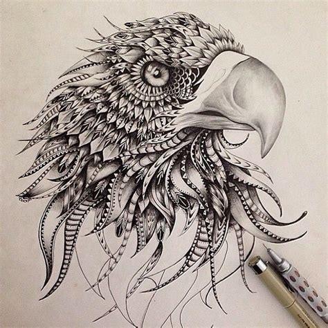 mandala eagle tattoo pin by marta lbb on zentangle pinterest eagles