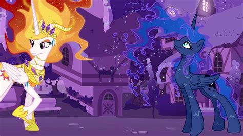 imagenes de my love from the star my little pony transforma la princesa celestia y luna en