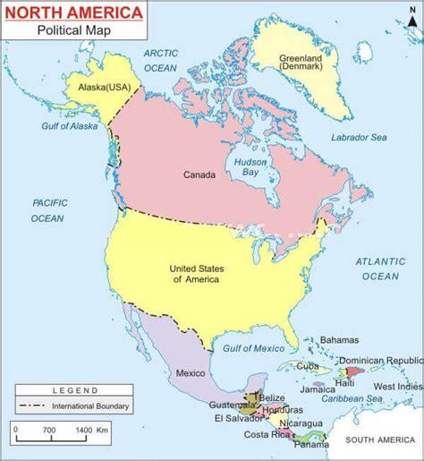 political map america map of america
