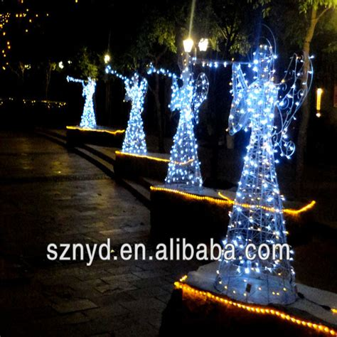 Christmas Light 3d Led Lighted Angel Outdoor Christmas Outdoor Lighted