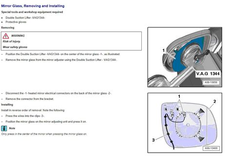 side mirror housing replacement how to replace passenger side mirror housing audiworld forums