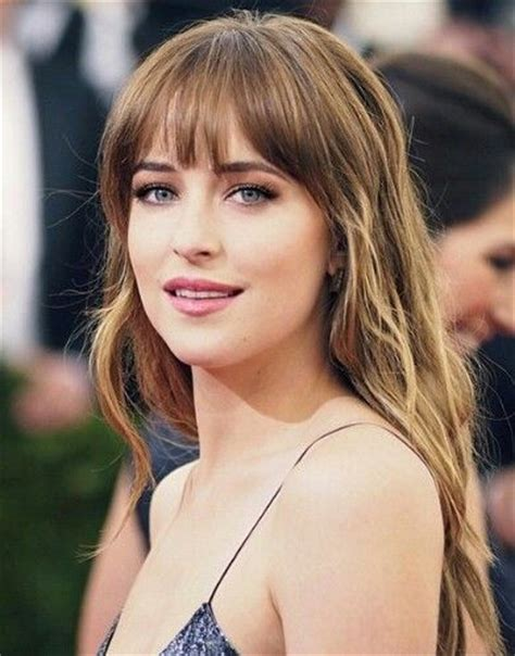 dakota johnson bangs her hair please dakota johnson anastasia steele