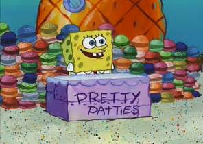 colored krabby patty pretty patties store encyclopedia spongebobia fandom