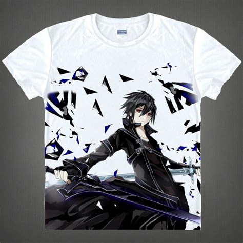 Logo Anime Japan T Shirt sword t shirts kawaii japanese anime t shirt