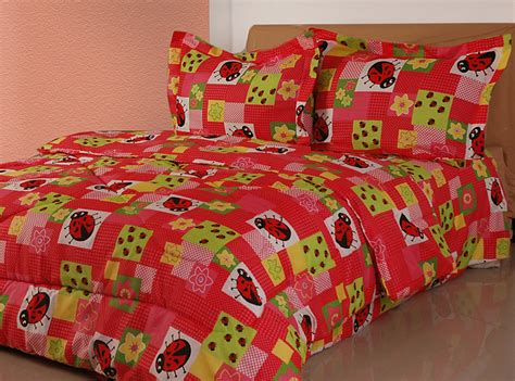 ladybug comforter twin lady bug bedding comforter set