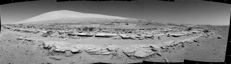 Mars Landscape Pictures Nasa Nasa S Curiosity Rover Looks Up At Mars Mountain Photos