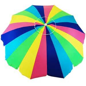 20 panel beach patio upf 100 umbrella rainbow beach umbrellas