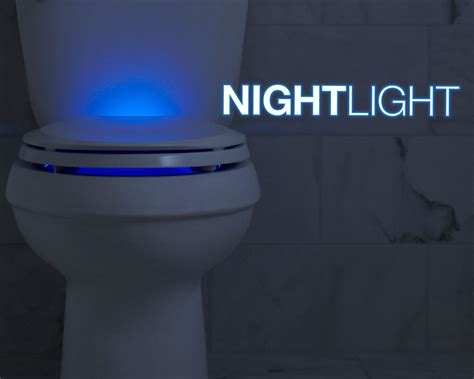 toilet light nightlight lighted toilet seats by kohler kohler