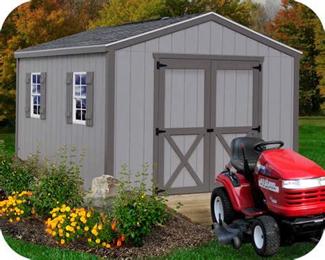 barns elm  wood storage shed kit