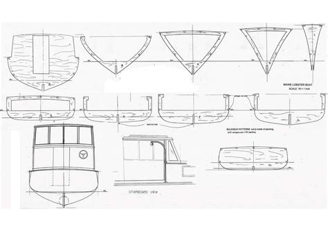 lobster boat layout the 800 liveaboard because every maine boy needs a